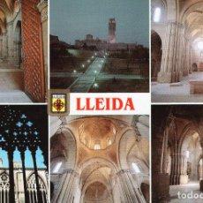 Postales: LLEIDA - DIFERENTS ASPECTES. Lote 221739715