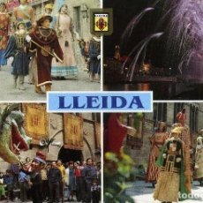 Postales: LLEIDA EN FESTES. Lote 221739732