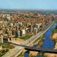 Postales: LERIDA - PUENTES SOBRE EL RIO SEGRE. Lote 221741362