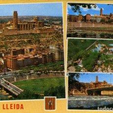 Postales: LERIDA - VARIOS ASPECTOS. Lote 221741556