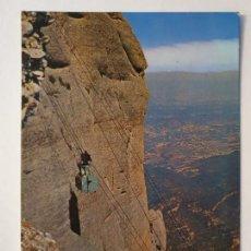 Cartes Postales: MONESTIR / MONASTERIO DE MONTSERRAT - FUNICULAR AÉREO A SANT JERONI - LMX - MONT1. Lote 221816113