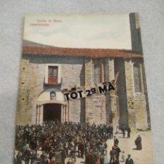 Postales: POSTAL CAMPRODON, SOETIDA DE MISA. Lote 221819446