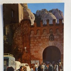 Cartes Postales: MONESTIR / MONASTERIO DE MONTSERRAT - MERCADO TÍPICO EN LA PLAZA - LMX - MONT1. Lote 221821455