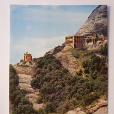 Cartes Postales: MONESTIR / MONASTERIO DE MONTSERRAT - SANT JOAN ERMITA Y RESTAURANT - LMX - MONT1. Lote 221822505