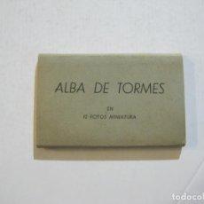 Postales: ALBA DE TORMES-MINI BLOC CON 12 VISTAS FOTOGRAFICAS-PUBLICIDAD JOYERIA JAIME BRIZ-VER FOTOS-(74.944). Lote 221824162