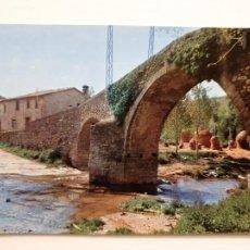 Cartes Postales: L'ESQUIROL / SANTA MARÍA DE CORCÓ - CALLE DEL PUENTE - LMX - PBAR6. Lote 221843638