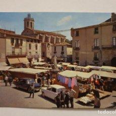 Cartes Postales: CENTELLES - PLAÇA / PLAZA PERE SORS - MERCAT / MERCADO - LMX - PBAR7. Lote 221847702