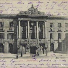 Postales: P- 11602. BARCELONA. CASAS CONSISTORIALES (AYUNTAMIENTO). CIRCULADA. AÑO 1904. Lote 221949215