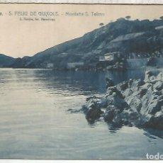 Postales: GIRONA SAN FELIU DE GUIXOLS ESCRITA. Lote 221949558