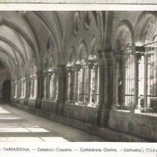 Postales: TARRAGONA CATEDRAL SIN ESCRIBIR. Lote 221949737