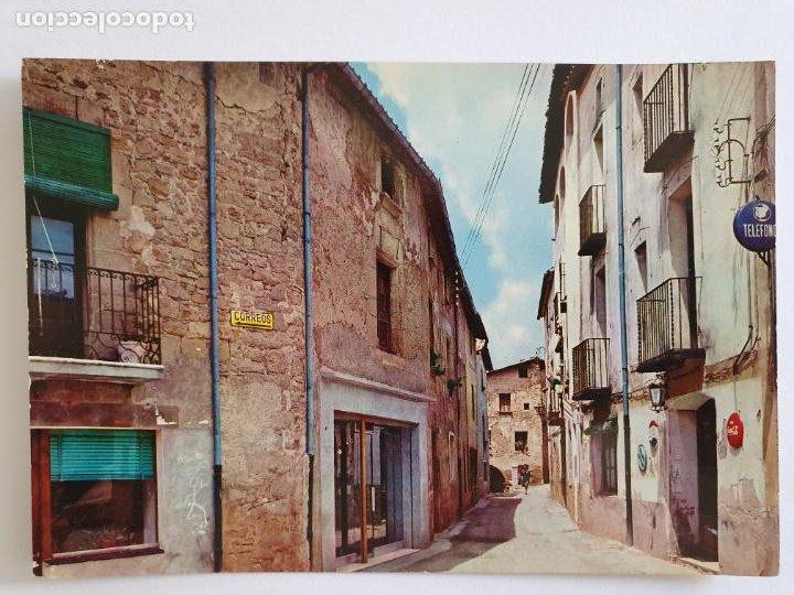 ALPENS - CARRER DE LA PLACETA - LMX - PBAR17 (Postales - España - Cataluña Moderna (desde 1940))