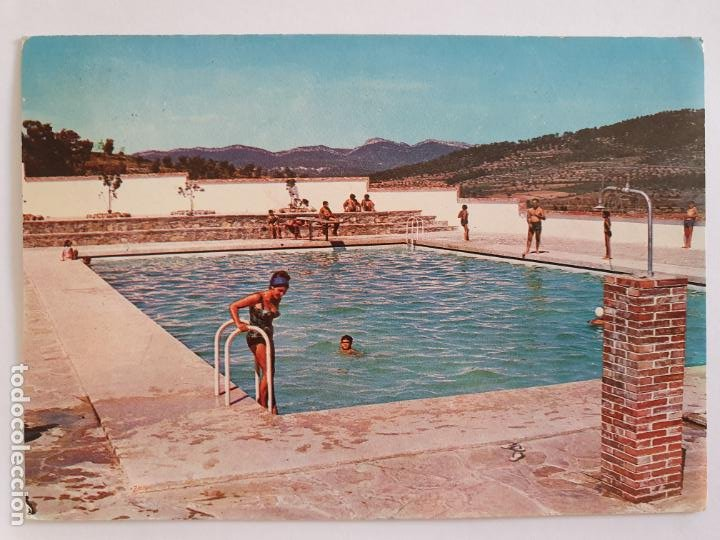 LA LLACUNA - PISCINA - LMX - PBAR18 (Postales - España - Cataluña Moderna (desde 1940))
