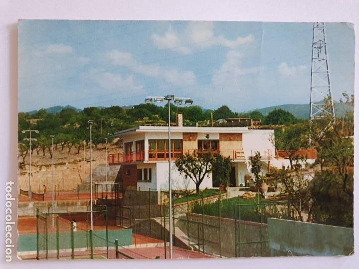 MOLINS DE REI - PISTAS DE TENIS SANT JORDI - LMX - PBAR19 (Postales - España - Cataluña Moderna (desde 1940))
