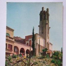 Cartes Postales: MOLINS DE REI - ESGLÉSIA / IGLESIA DE SANT MIQUEL - LMX - PBAR19. Lote 222031523