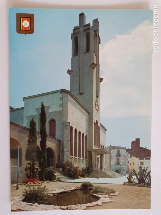 MOLINS DE REI - PLAÇA DE L'ESGLÉSIA / PLAZA DE LA IGLESIA - LMX - PBAR19 (Postales - España - Cataluña Moderna (desde 1940))