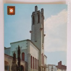 Cartes Postales: MOLINS DE REI - PLAÇA DE L'ESGLÉSIA / PLAZA DE LA IGLESIA - LMX - PBAR19. Lote 222031556