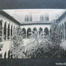 Cartoline: BARCELONA-PURISIMA CONCEPCION-CLAUSTRO-ATV-ANGEL TOLDRA VIAZO-A.T.V.-POSTAL ANTIGUA-(75.115). Lote 222079951