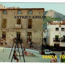 Postales: TIVISSA / TARRAGONA Nº 13 FONDA TOSSA .- FOTO RAYMOND. Lote 222107935