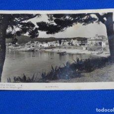 Postales: POSTAL EL CANADELL.CALELLA DE PALAFRUGELL.CIRCULADA 1946.COSTA BRAVA 6.. Lote 222185027