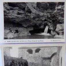 Postales: P-11622. SAN QUINTIN DE MEDIONA. 2 POSTALES CIRCULADAS. FOTO L. ROISIN. AÑO 1952. Lote 222289908