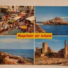 Postales: HOSPITALET DE L'INFANT - VISTES - TARRAGONA - LMX - PTAR2. Lote 222393252