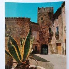 Postales: PRATDIP - PLAÇA DE L'ESGLÉSIA / PLAZA DE LA IGLESIA - LMX - PTAR7. Lote 222445176