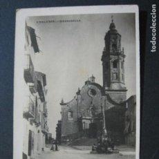 Postales: GRANADELLA-ESGLESIA-FOTOGRAFICA-POSTAL ANTIGUA-(75.266). Lote 222696288