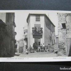 Postales: BUTSENIT DE MONGAY-PLAÇA DE BUIXADORS-FOTOGRAFICA-POSTAL ANTIGUA-(75.273). Lote 222697838