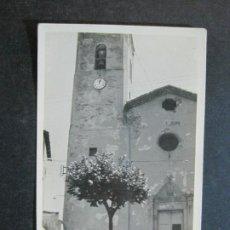 Postales: SAN QUIRICO DE BESORA-IGLESIA-LEGAZ FOTOGRAFICA-POSTAL ANTIGUA-(75.315). Lote 222711266