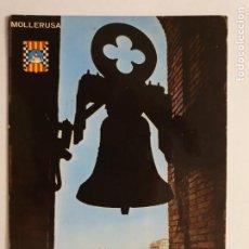 Postales: MOLLERUSSA - VISTA PARCIAL DESDE LA TORRE PARROQUIAL - CAMPANA - LLEIDA - LMX - PLLE6. Lote 222714973