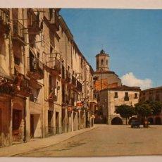 Postales: BELLPUIG - PLAÇA DE SANT ROC / PLAZA DE SAN ROQUE - LLEIDA - LMX - PLLE6. Lote 222715657