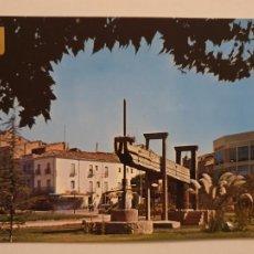 Postales: BORGES BLANQUES - PLAÇA / PLAZA DEL TERRALL - MONUMENT AL PAGÈS - LLEIDA - LMX - PLLE6. Lote 222716157