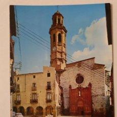 Postales: CALAF - PLAÇA / PLAZA NACIONAL - LLEIDA - LMX - PLLE6. Lote 222716387