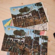 Postales: CALDAS DE MALAVELLA / HOSTAL CATALUÑA .- POSTAL , NEGATIVOS Y PRUEBA DE COLOR .- EURO EDICIONES. Lote 222896796