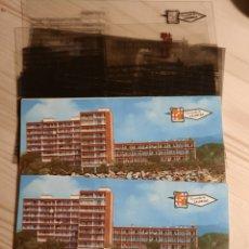 Postales: CALDETAS ,VISTA PARCIAL .- POSTAL , NEGATIVOS Y PRUEBA DE COLOR .- EDICIONES PERGAMINO. Lote 223356157