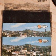 Postales: CALDETAS ,VISTA PARCIAL .- POSTAL , NEGATIVOS Y PRUEBA DE COLOR .- EDICIONES PERGAMINO. Lote 223364733