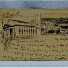 Postales: LOTE 3 ANTIGUAS POSTALES DE LOGROÑO.PRIMEROS AÑOS SIGLO XX.DORSO SIN PARTIR.. Lote 223371300