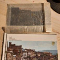 Postales: LA BISBAL / PUENTE VIEJO Y CASTILLO / NEGATIVOS Y PRUEBAS DE COLOR / EDICIONES PERGAMINO. Lote 223673175