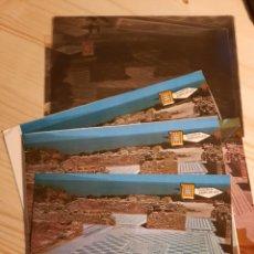 Postales: SAN MARTI DE AMPURIAS , RUINAS / POSTAL , NEGATIVOS Y PRUEBAS DE COLOR / EDICIONES PERGAMINO. Lote 223678293