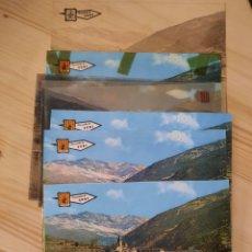 Postales: SORT / VISTA GENERAL .- NEGATIVOS , POSTAL Y PRUEBAS DE COLOR .- EDICIONES PERGAMINO. Lote 223703106