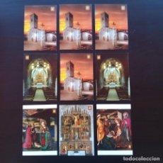 Postales: 9 POSTALES SANTA MARIA DE PALAU SOLITA P617. Lote 223841562