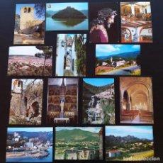 Postales: 38 POSTALES PROCINCIA DE BARCELONA FIGARO, SANT MARTI DE SARROCA, SANT QUIRZE SAFAJA,VILASAR DE MAR. Lote 223857077