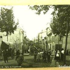 Postales: MATARO (BARCELONA) Nº 16 CALLE DE ARGENTONA - ED. SIN INDICAR - CIRCULADA 1911 - CATALUNYA. Lote 224058118