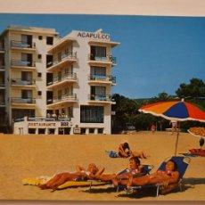 Postais: PLATJA D'ARO - HOTEL ACAPULCO - LMX - GIR10. Lote 224674421