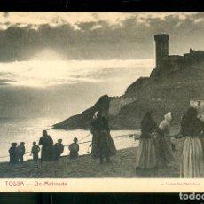 Postales: NUMULITE P0037 POSTAL TOSSA DE MATINADA L. ROISIN FOT BARCELONA. Lote 224946453
