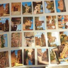 Postales: LOTE DE 28 POSTALES DE PALS - COSTA BRAVA. Lote 224971080