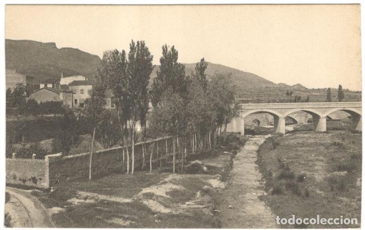 MONTBLANCH. VISTA PARCIAL. SIN CIRCULAR. (Postales - España - Cataluña Antigua (hasta 1939))
