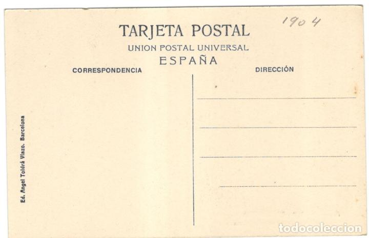 Postales: BARCELONA, LINEA DEL TRANVIA DE VALLVIDRERA. A.T.V. 249.sin circular. - Foto 2 - 225927065