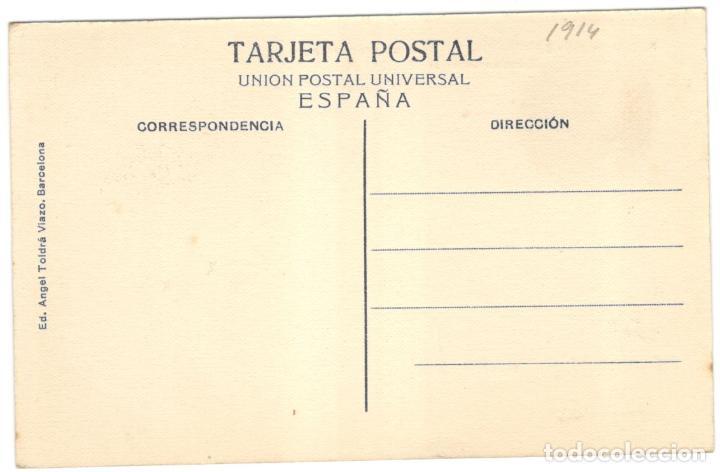 Postales: BARCELONA - FUNICULAR DE VALLVIDRERA, ESTACIÓN SUPERIOR. A.T.V. 236. sin circular. - Foto 2 - 225928260