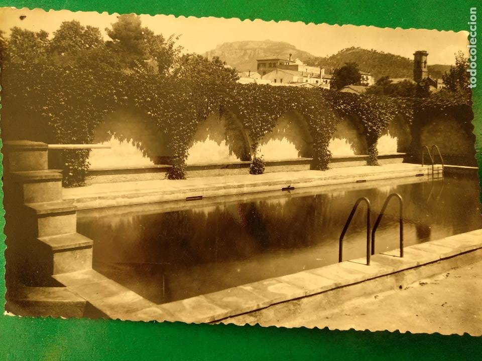 POSTAL FOTOGRÁFICA. BARCELONA MATADEPERA PISCINA. ED. J. BUSQUETA Nº11 (Postales - España - Cataluña Moderna (desde 1940))